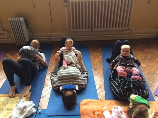 Pre- and post-natal yoga and singing